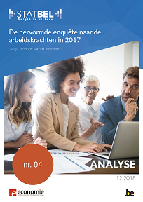 De hervormde enquête naar de arbeidskrachten in 2017