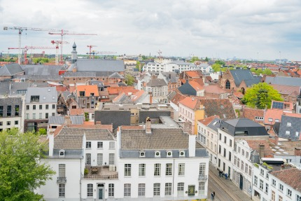 The number of buildings in Belgium has increased by 13.5 % since 1995
