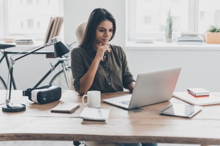 Almost 44% of female employees work part-time