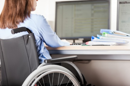 23 % of people with disabilities have a job