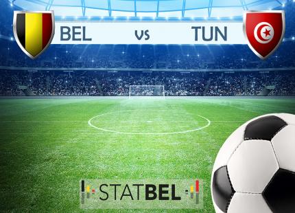 België vs Tunisia