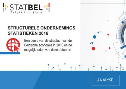 Structurele ondernemingsstatistieken 2016